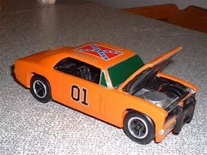General Lee Pinewood Derby Car - by SpeedBuggy