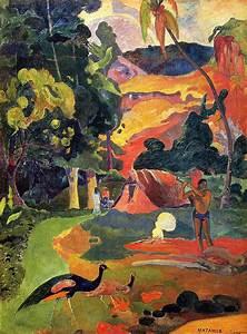 Plusieurs Oiseaux des Arbres de Vie - Paul Gauguin ...