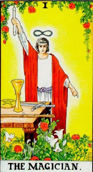 magician major arcana tarot card meaning waite