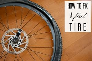 How To Fix A Flat Bike Tire Bicycle Repairs Craft