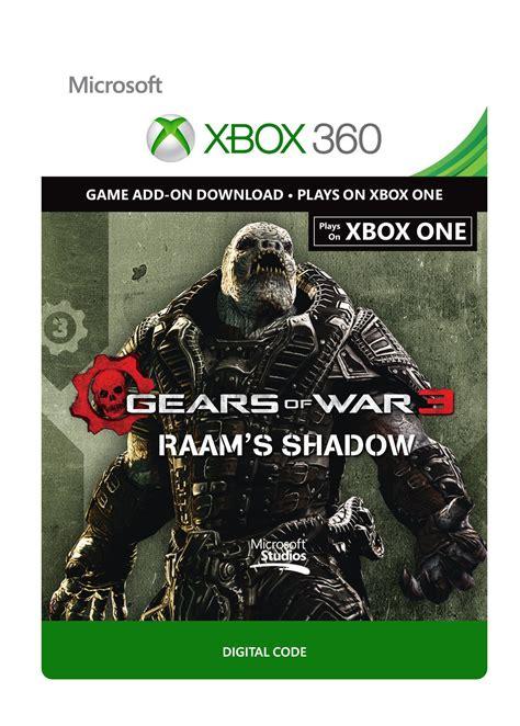 acheter gears  war  raams shadow pack  xbox