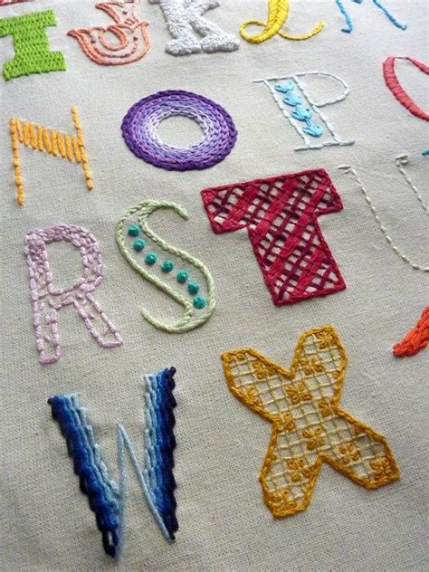 abc sampler  hand embroidery pattern embroidery sampler embroidery letters embroidery