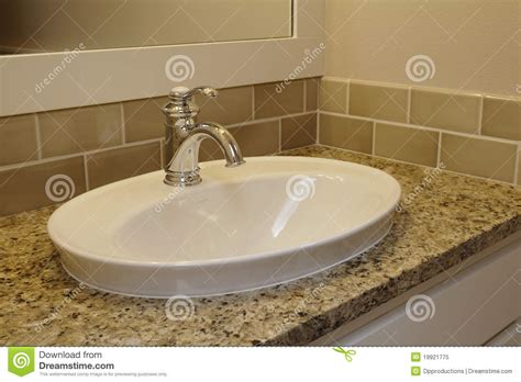Bathroom Sink Royalty Free Stock Photo-image