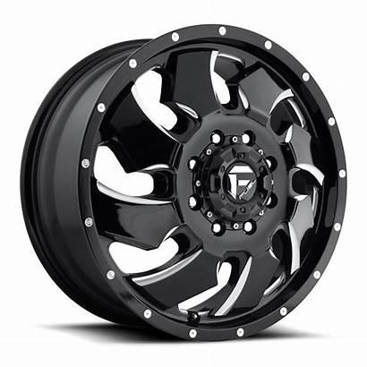 Dually Cleaver Wheels Fuel D574 Lug Custom