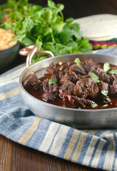 learn   chili colorado   instant pot