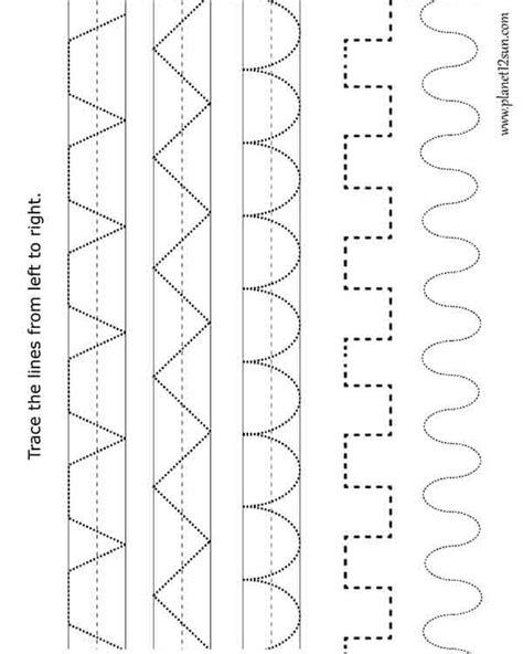 tracing practice worksheet pre k vpk pre k worksheets