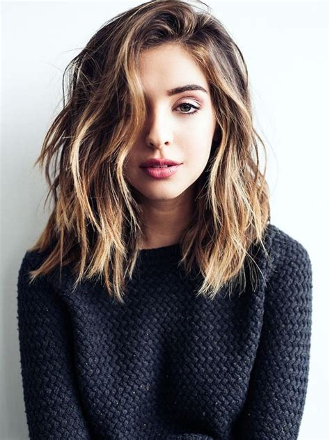 simple shoulder length haircuts 10 easy everyday hairstyle for shoulder length hair 2019