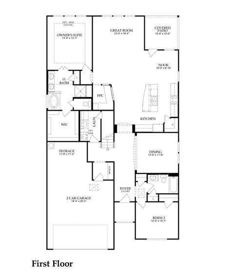 pulte homes archives floor plan friday