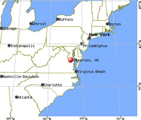 Garden State Parkway Jobs by Montross Virginia Va 22520 Profile Population Maps