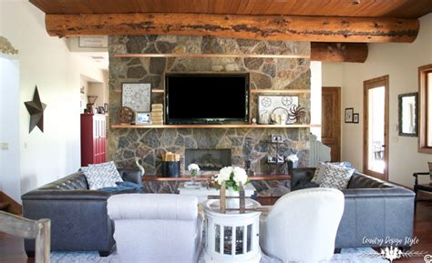 industrial country living room industrial farmhouse living room country design style Industrial Country Living Room