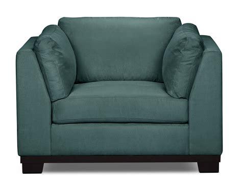 Oakdale Sofas by Oakdale Microsuede Sofa Azure The Brick