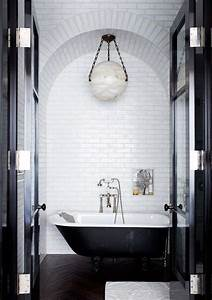 carrelage salle de bain noir et blanc duo intemporel With 5 inspirations for your black and white bathroom