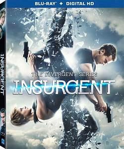 The Divergent Series: Insurgent DVD, Blu-ray 3D, Blu-ray ...