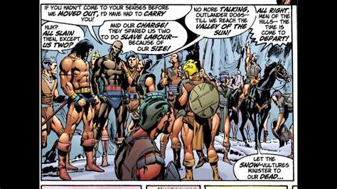 conan artthinking  conan comic book