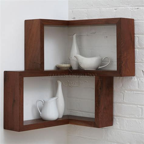 mensola legno mensola angolare in legno massello da parete falegnameria900