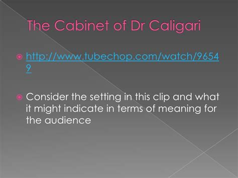 The Cabinet Of Dr Caligari Critical Analysis by 100 The Cabinet Of Dr Caligari Analysis The