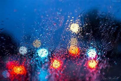 Rain Wallpapers Desktop Streetlights Isacgoulart Lights Street