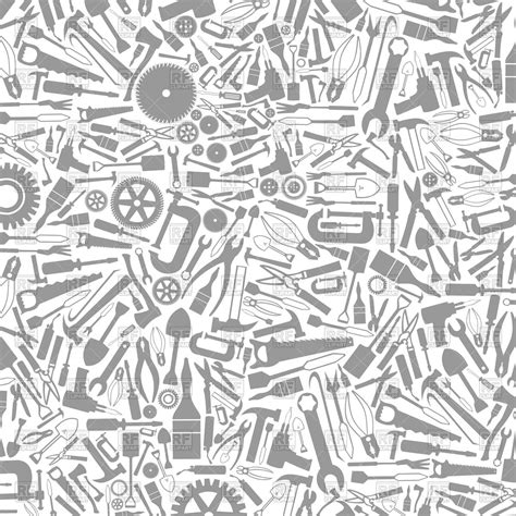 tools background grey background from tools vector image vector artwork