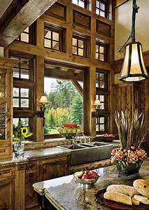 Sweet, Country, Rustic, Kitchen, Idea, U2013, Designed, To, Own