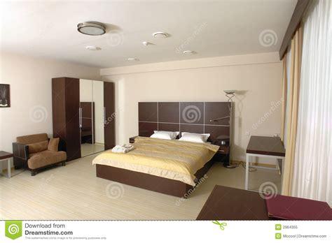 modèle de chambre à coucher chambre à coucher moderne photo libre de droits image