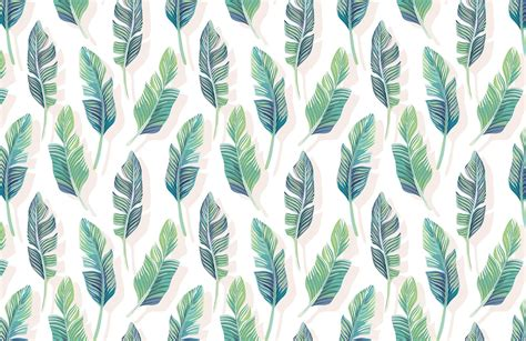 turquoise bathroom set white and green tropical leaf wallpaper mural wallpaper