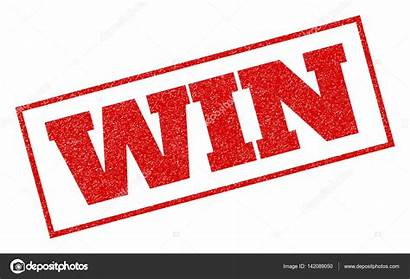 Win Stamp Rubber Illustration Vector Depositphotos