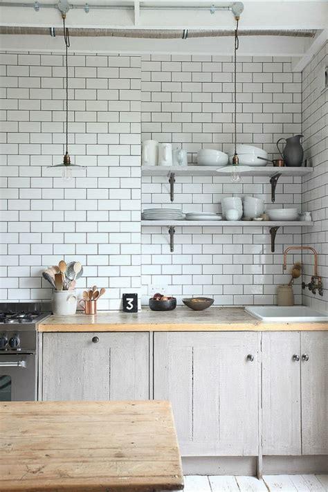 white brick kitchen tiles metrofliesen in k 252 che und bad sch 246 ne ideen f 252 r wand und 1258