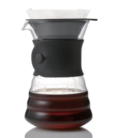 bpa free coffee maker with grinder hario v60 2 cup drip decanter alternative brewing