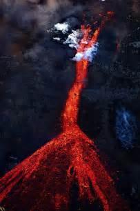 Volcano Lava Flow