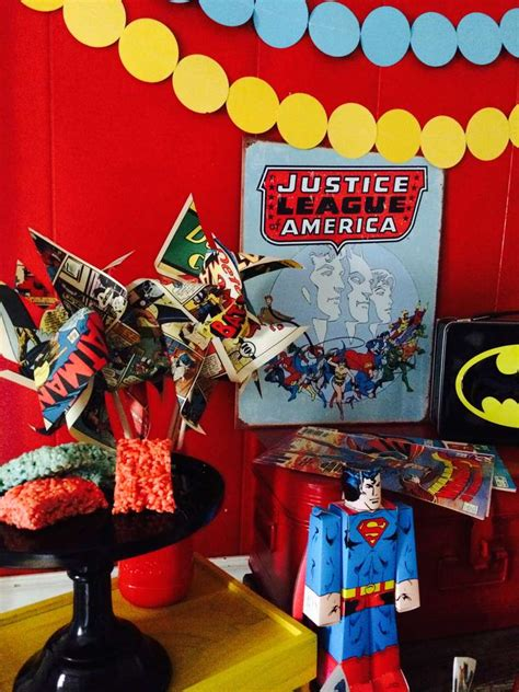 Justice Leaguesuperhero Birthday Party Ideas  Photo 10