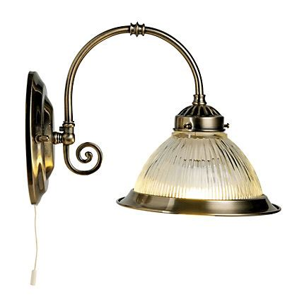 wall light with switch homebase oklahoma wall light antique brass