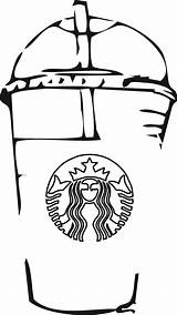 Starbucks Coloring Pages Coffee Simple Printable Cup Drawings Drawing Via Cool Activity Template sketch template