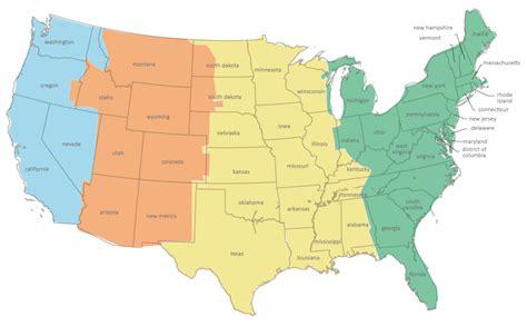 times zones maps calendar