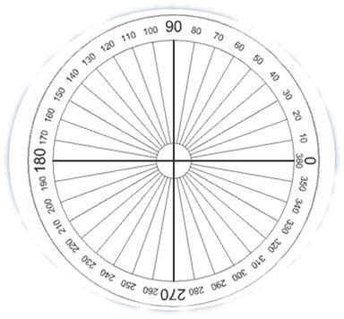 degree protractor template printable search results