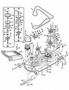 Cub Cadet Lt1045 Parts Diagram Schematic