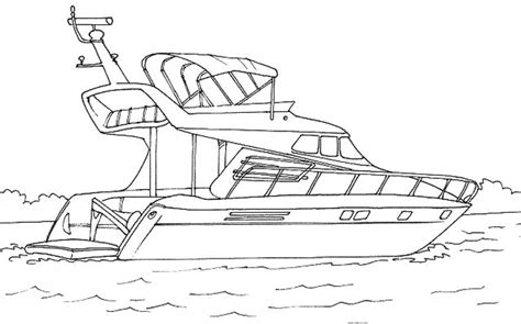 Dessin Bateau Yacht by Dididou Coloriage Yacht