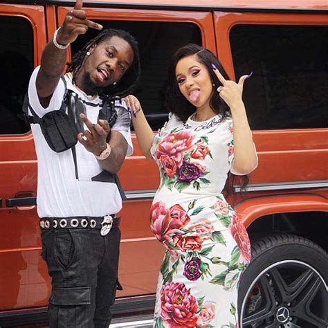 cardi  shows  blossoming baby belly   performs