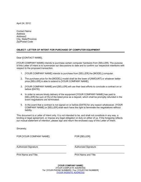 equipment purchase proposal template  piece