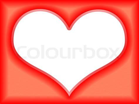 love frame   shape  heart stock photo colourbox