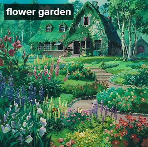clumsical sayakka flower garden ghibli mix a mix for