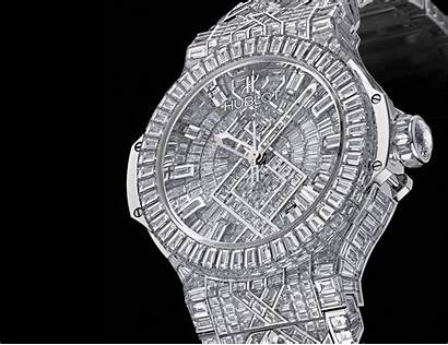 Expensive Watches Diamond Wallpapers Hublot Check Luxurious