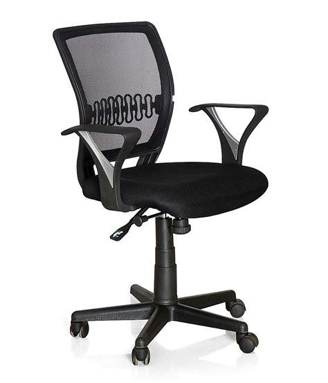 Chair Price by Nilkamal Office Chair Black Buy Nilkamal