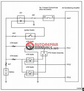 Free Download  Toyota Yaric Repair Manuals  Air Conditioning