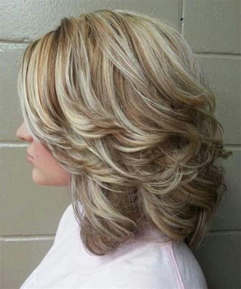 medium length layered hairstyles ideas