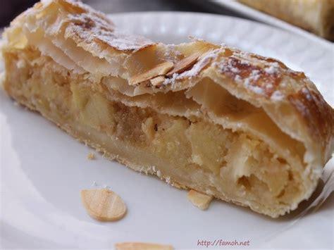 recette de cuisine tunisienne facile et rapide en arabe strudel pommes pate feuilletee 28 images strudel