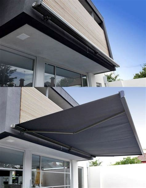 amenagement balcon terrasse  idees dauvent retractable