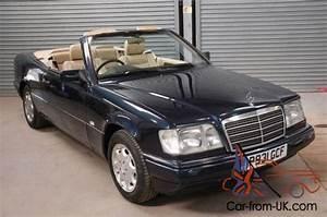 Mercedes W124 Cabriolet : 1996 p mercedes e220 auto w124 cabrio convertible rare ~ Maxctalentgroup.com Avis de Voitures