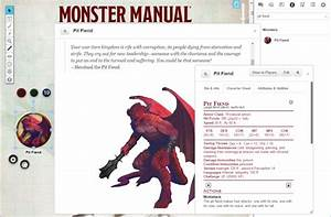 Roll20 To Offer The Official D U0026d 5e Monster Manual