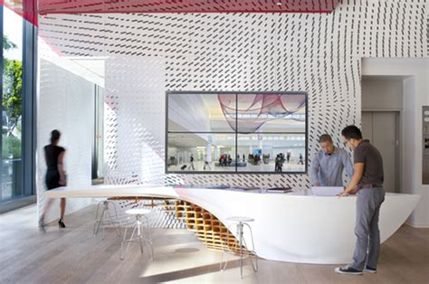 organic slogen table    macs amazes visitors  gensler offices  los angeles news infurma  magazine   international