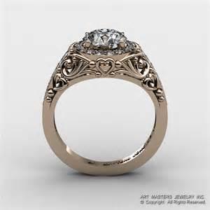 italian wedding rings italian 14k gold 1 0 ct cubic zirconia engagement ring wedding ring r280 14krgdcz